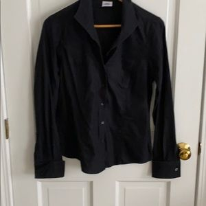 Brook Brothers button blouse